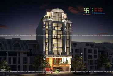 Thiết kế khách sạn hiện đại sang trọng tại Tp. Thủ Dầu Một, tỉnh Bình Dương