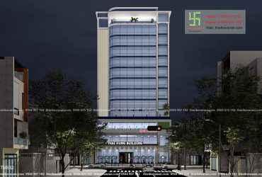 Thiết kế tòa nhà THÁI HƯNG BUILDING tại Tp. Thủ Dầu Một, Bình Dương