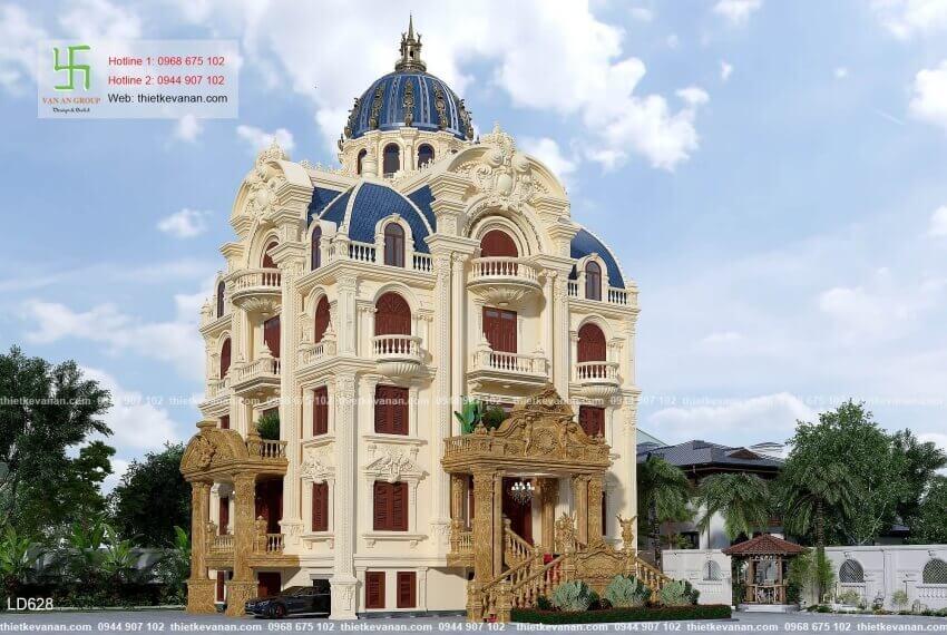 biệt thự lâu đài cổ điển