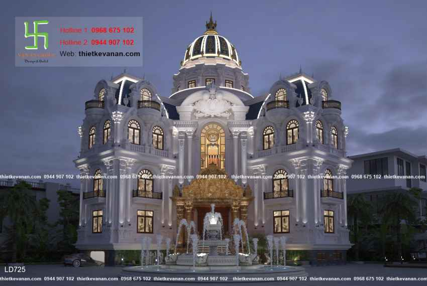 lâu đài đẹp