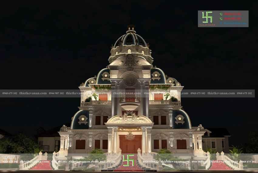 lâu đài tân cổ điển