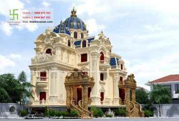 Thiết kế lâu đài đồ sộ và xa hoa tại Vĩnh Phúc 70702