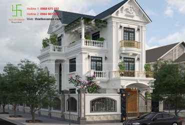 Biệt thự mái thái đẹp ấn tượng, đẳng cấp BT 510
