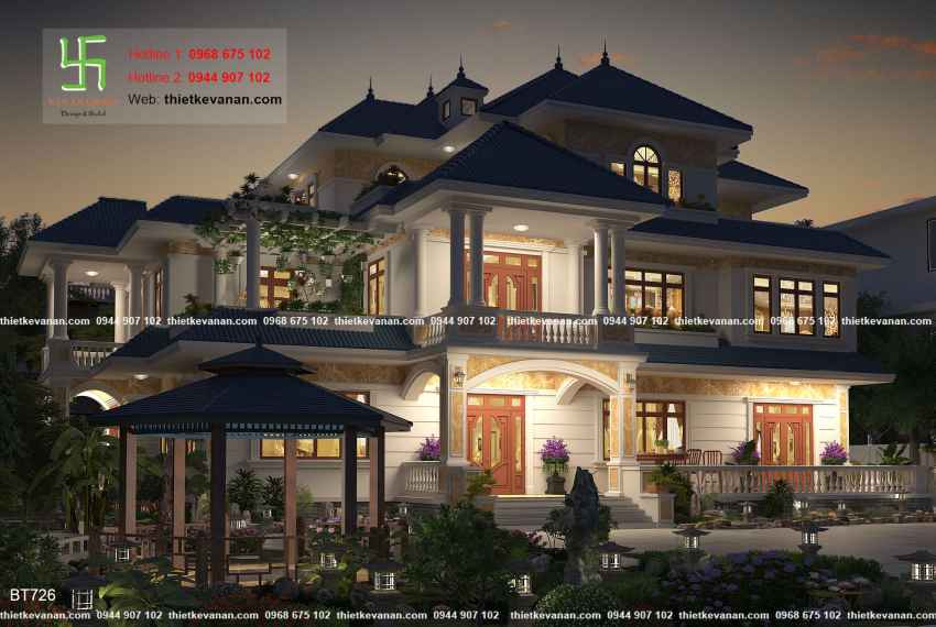 Biệt thự nhà vườn đẹp lung linh tại Hòa Bình 72614