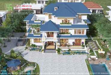 Biệt thự nhà vườn đẹp lung linh tại Hòa Bình 7266