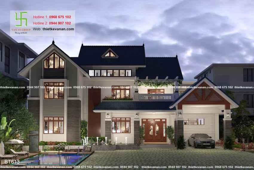 Biệt thự sân vườn đẳng cấp như resort nghỉ dưỡng tại Phú Yên 61310