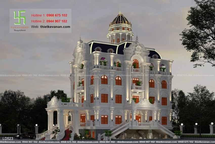 thiết kế dinh thự đẹp