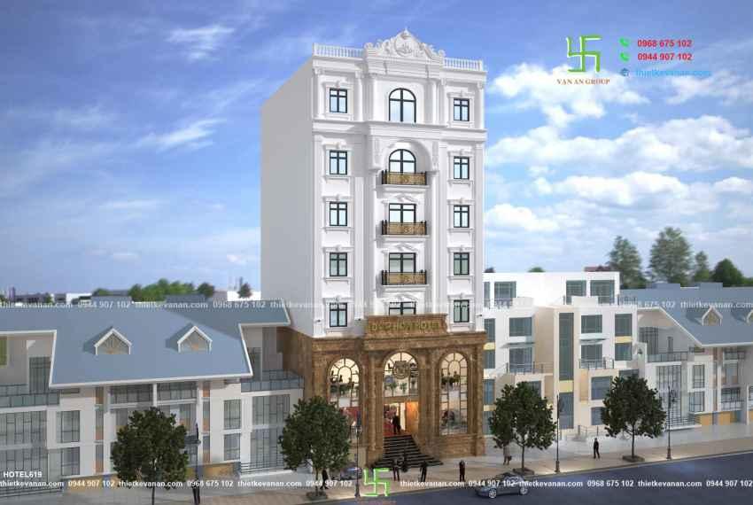 Khách sạn 2 sao đẹp ấn tượng tại thành phố biển Vũng Tàu HOTEL 6181