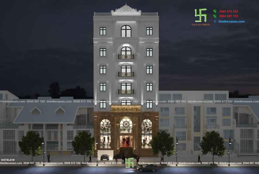 Khách sạn 2 sao đẹp ấn tượng tại thành phố biển Vũng Tàu HOTEL 6185