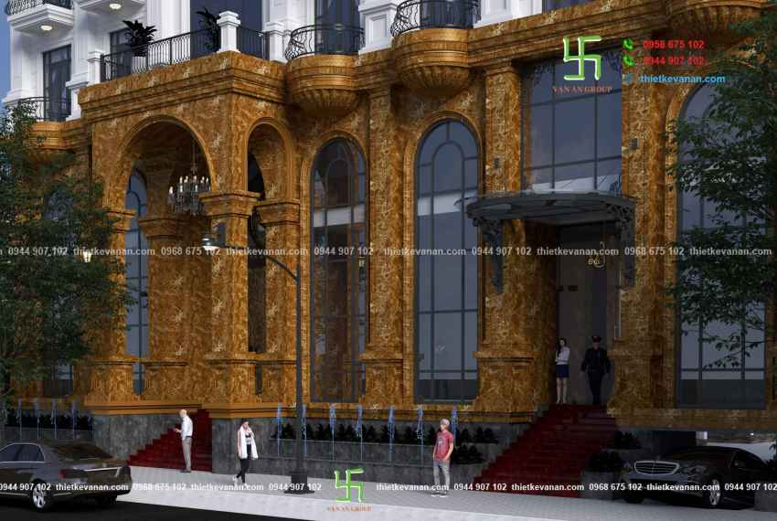 Thiết kế khách sạn 3 sao kiến trúc Châu Âu đẹp ngỡ ngàng tại Nha Trang HOTEL 6063