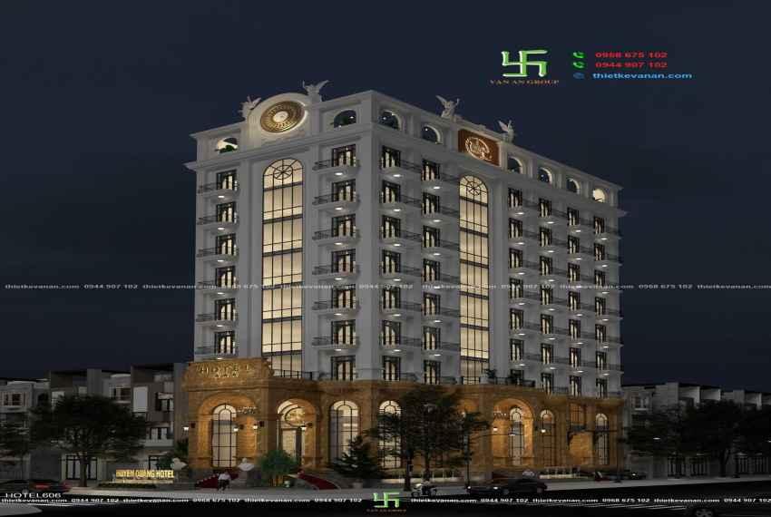 Thiết kế khách sạn 3 sao kiến trúc Châu Âu đẹp ngỡ ngàng tại Nha Trang HOTEL 6065