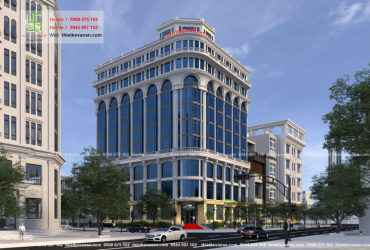 Thiết kế khách sạn 5 sao đẹp lộng lẫy tại Tp. Cam Ranh – Hotel 605