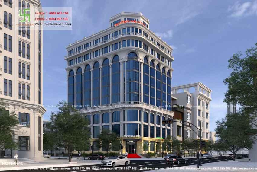 Thiết kế khách sạn 5 sao lộng lẫy tại Thành phố biển Cam Ranh, Khánh Hòa HOTEL 6101