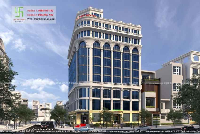 Thiết kế khách sạn 5 sao lộng lẫy tại Thành phố biển Cam Ranh, Khánh Hòa HOTEL 6102