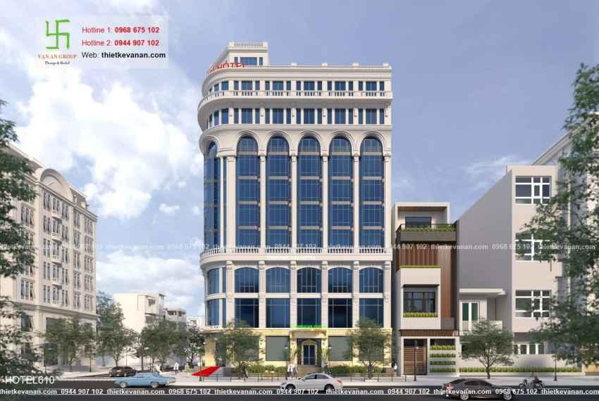 Thiết kế khách sạn 5 sao lộng lẫy tại Thành phố biển Cam Ranh, Khánh Hòa HOTEL 6103