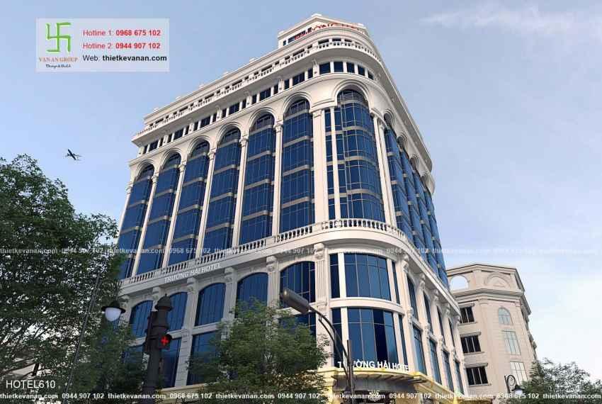 Thiết kế khách sạn 5 sao lộng lẫy tại Thành phố biển Cam Ranh, Khánh Hòa HOTEL 6104