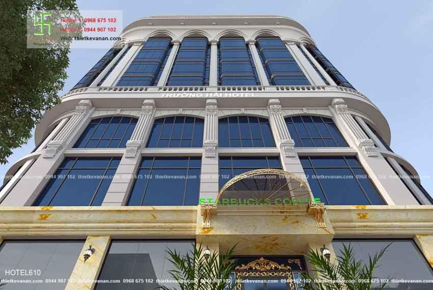 Thiết kế khách sạn 5 sao lộng lẫy tại Thành phố biển Cam Ranh, Khánh Hòa HOTEL 6105