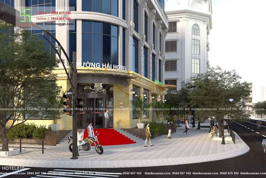 Thiết kế khách sạn 5 sao lộng lẫy tại Thành phố biển Cam Ranh, Khánh Hòa HOTEL 6106