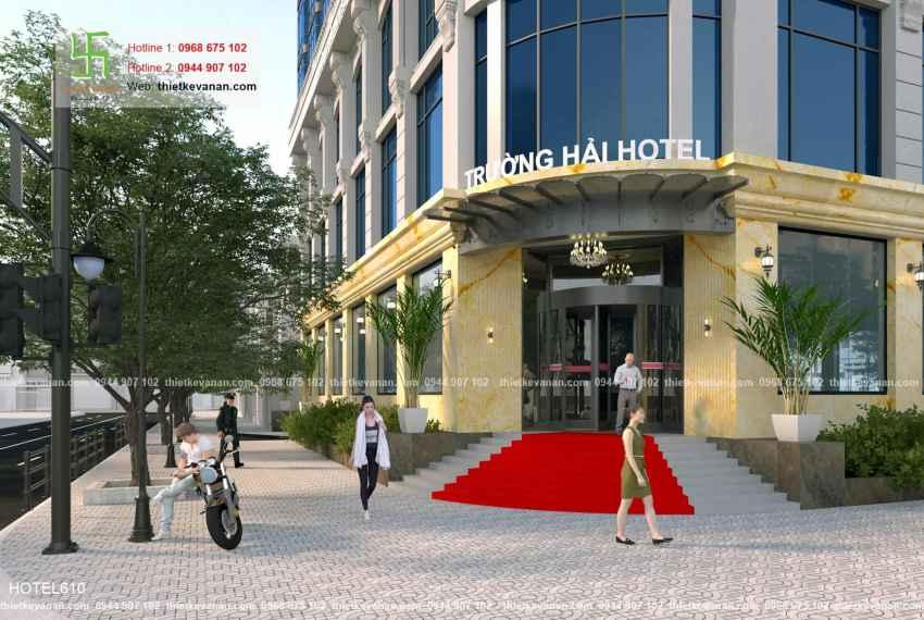 Thiết kế khách sạn 5 sao lộng lẫy tại Thành phố biển Cam Ranh, Khánh Hòa HOTEL 6107