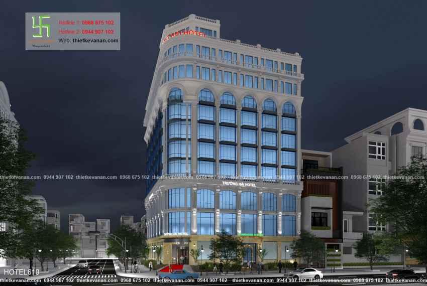Thiết kế khách sạn 5 sao lộng lẫy tại Thành phố biển Cam Ranh, Khánh Hòa HOTEL 6109