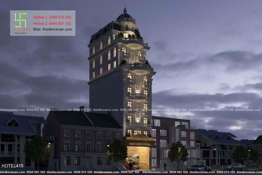 Khách sạn mini 2 sao tân cổ điển đẹp lung linh tại Vũng Tàu HOTEL 4155