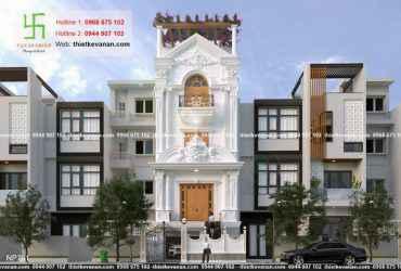 Thiết kế nhà phố 3 tầng đẹp lung linh tại Vũng Tàu 7811