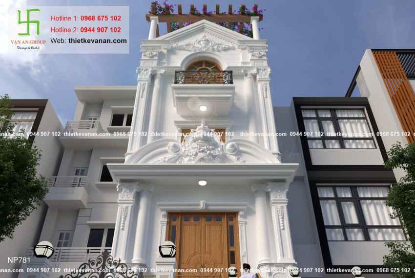 Thiết kế nhà phố 3 tầng đẹp lung linh tại Vũng Tàu 7813