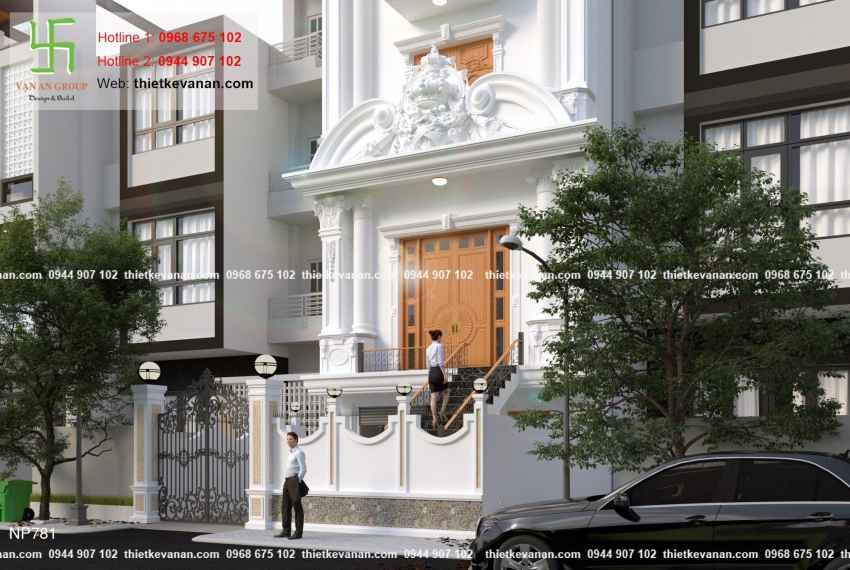 Thiết kế nhà phố 3 tầng đẹp lung linh tại Vũng Tàu 7815