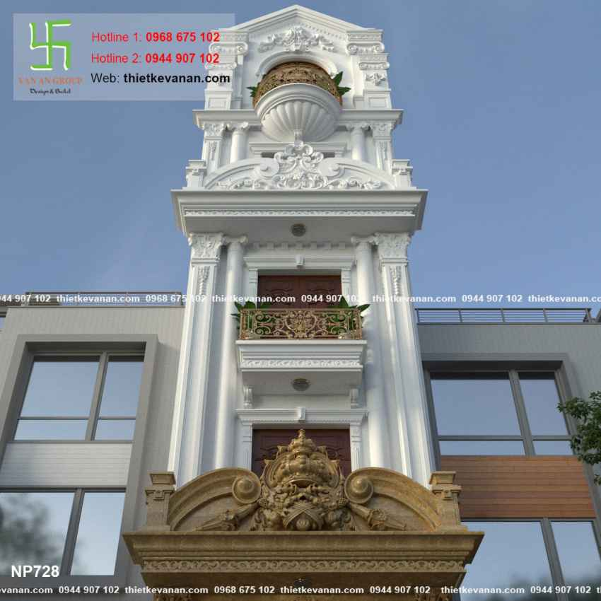 Nhà phố đẹp lung linh 7283