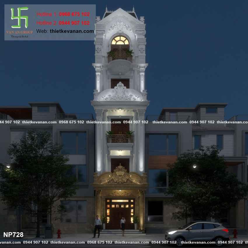 Nhà phố đẹp lung linh 7284