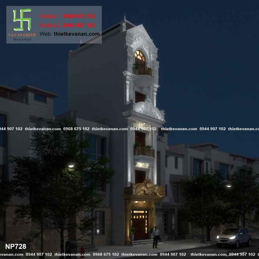 Nhà phố đẹp lung linh 7285