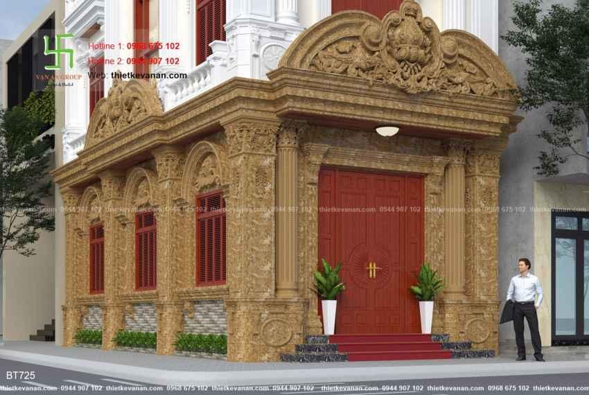 Thiết kế biệt thự tân cổ điển đẹp tại Thái Bình 7255