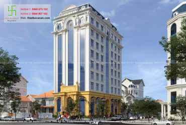 Thiết kế khách sạn 3 sao sang trọng và cuốn hút tại Tuy Hòa, Phú Yên HOTEL624