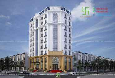 Thiết kế khách sạn sang trọng và lộng lẫy tại Gia Lâm, Hà Nội KS 605