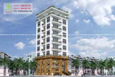 Thiết kế nhà nghỉ hiện đại đẹp lung linh tại tp Hồ Chí Minh HOTEL674