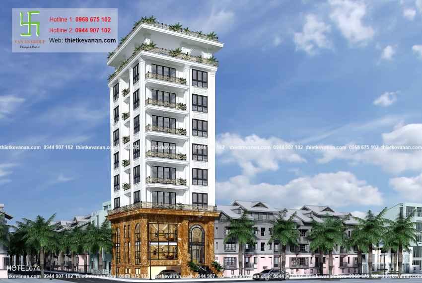 Thiết kế nhà nghỉ hiện đại đẹp lung linh tại tp Hồ Chí Minh HOTEL 6744