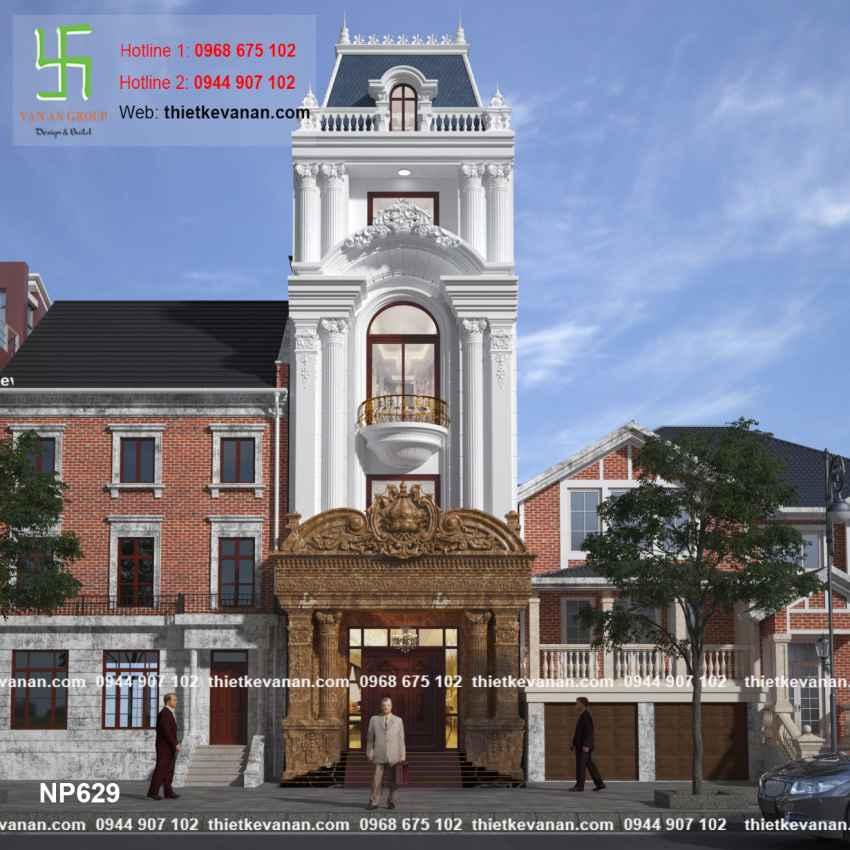 Thiết kế nhà phố đẹp lộng lẫy tại Quảng Ninh 6291