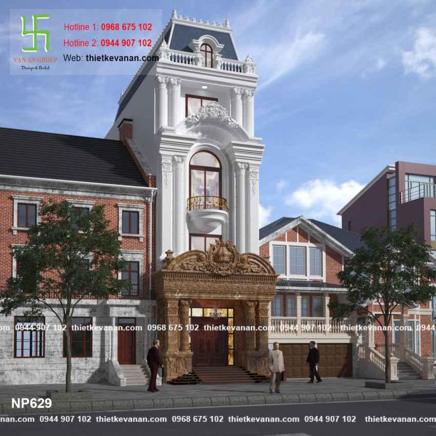 Thiết kế nhà phố đẹp lộng lẫy tại Quảng Ninh 6292
