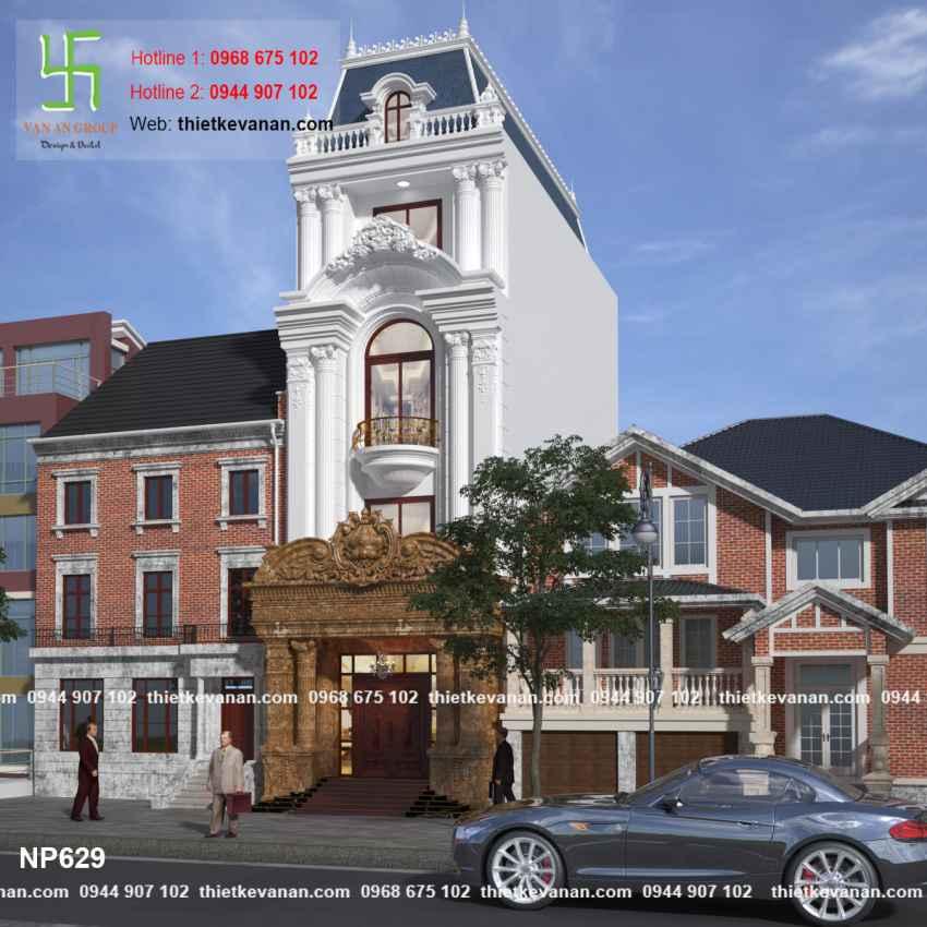 Thiết kế nhà phố đẹp lộng lẫy tại Quảng Ninh 6293