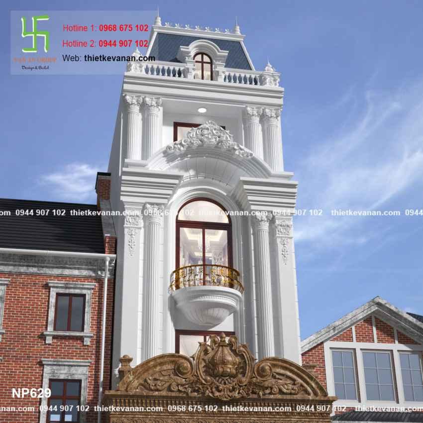 Thiết kế nhà phố đẹp lộng lẫy tại Quảng Ninh 6294