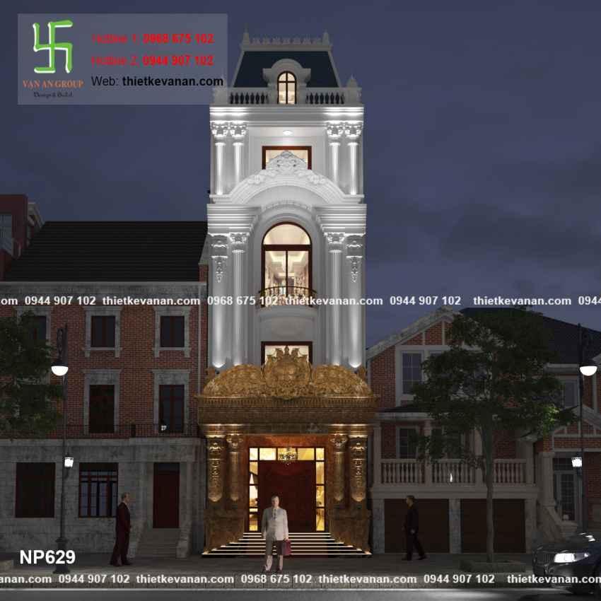 Thiết kế nhà phố đẹp lộng lẫy tại Quảng Ninh 6296