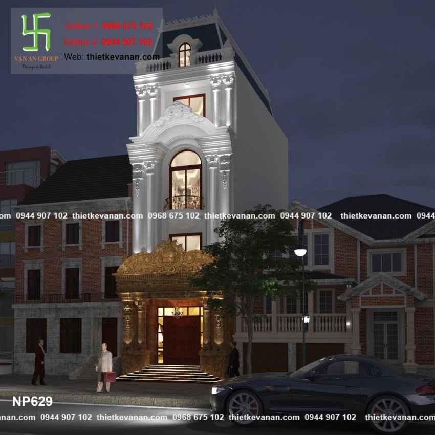 Thiết kế nhà phố đẹp lộng lẫy tại Quảng Ninh 6298