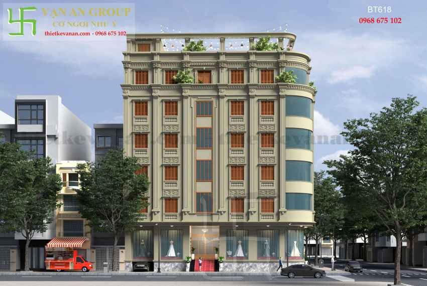 Biệt thự phố đẹp ấn tượng tại thành phố Cao Bằng BT 6182