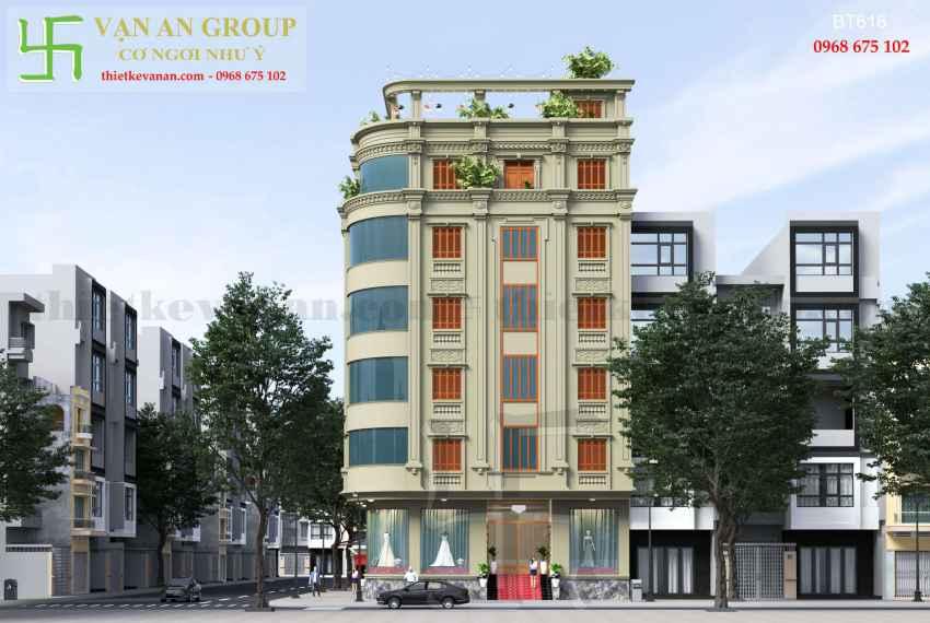 Biệt thự phố đẹp ấn tượng tại thành phố Cao Bằng BT 6183