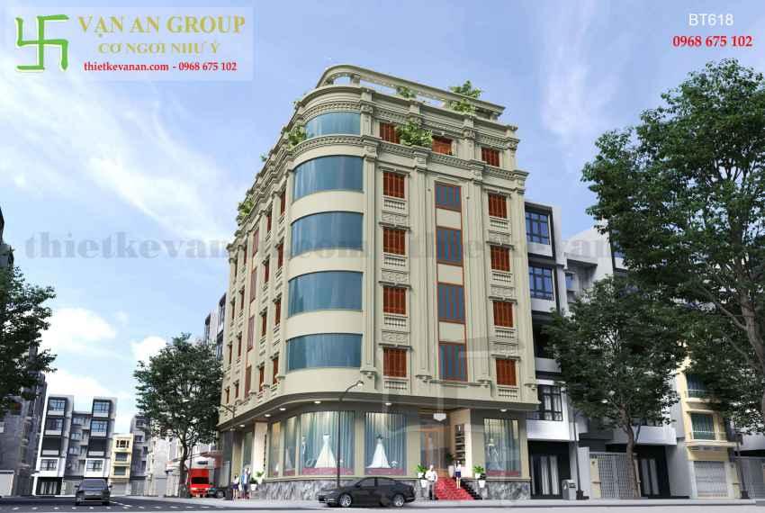 Biệt thự phố đẹp ấn tượng tại thành phố Cao Bằng BT 6184