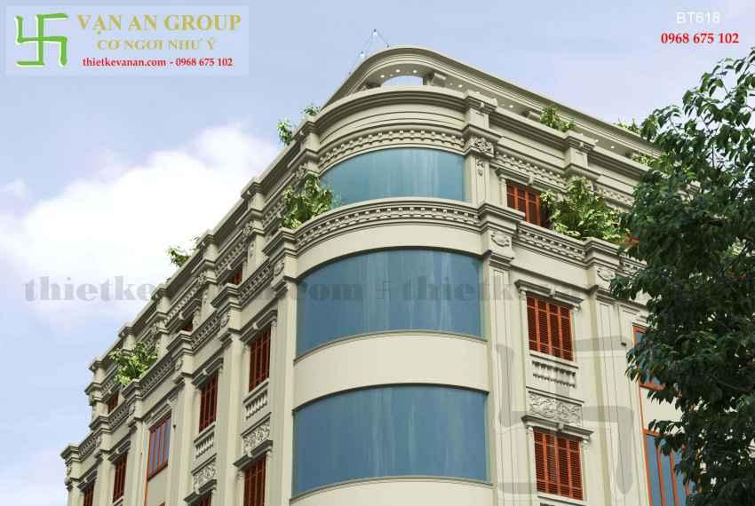 Biệt thự phố đẹp ấn tượng tại thành phố Cao Bằng BT 6185