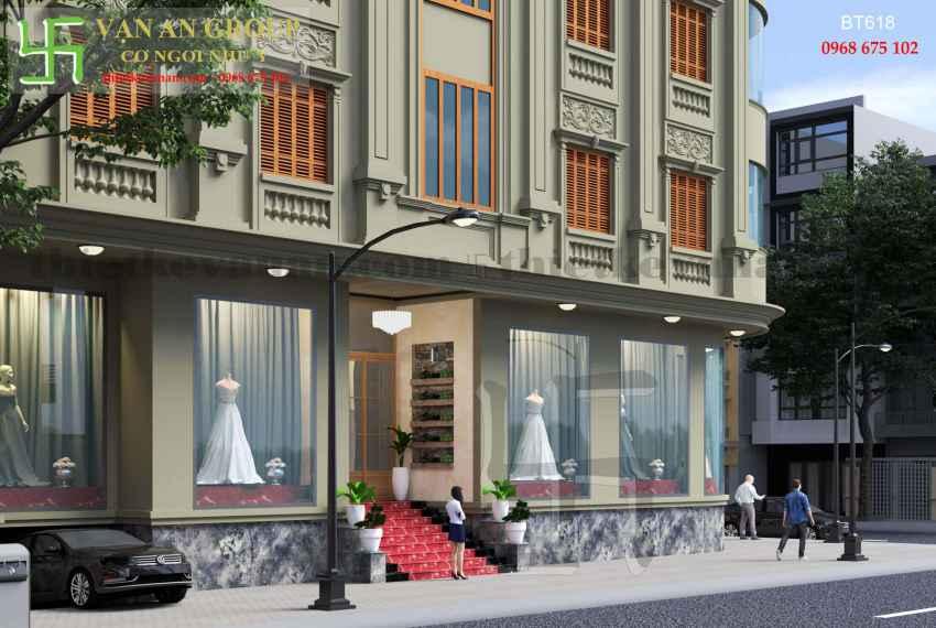 Biệt thự phố đẹp ấn tượng tại thành phố Cao Bằng BT 6186