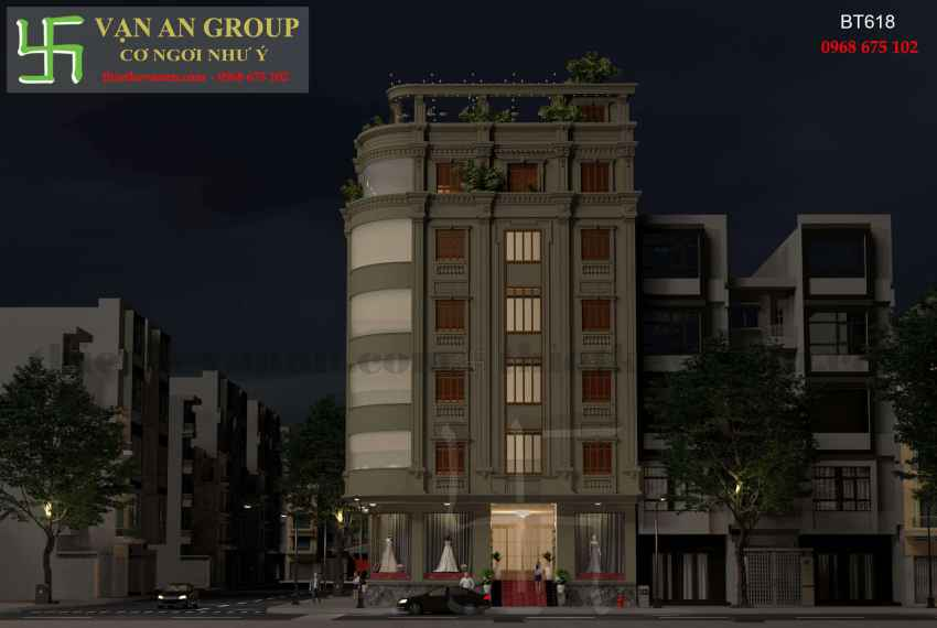Biệt thự phố đẹp ấn tượng tại thành phố Cao Bằng BT 6188