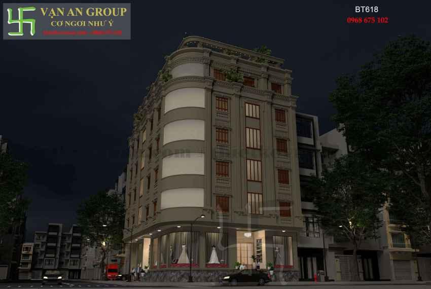 Biệt thự phố đẹp ấn tượng tại thành phố Cao Bằng BT 6189