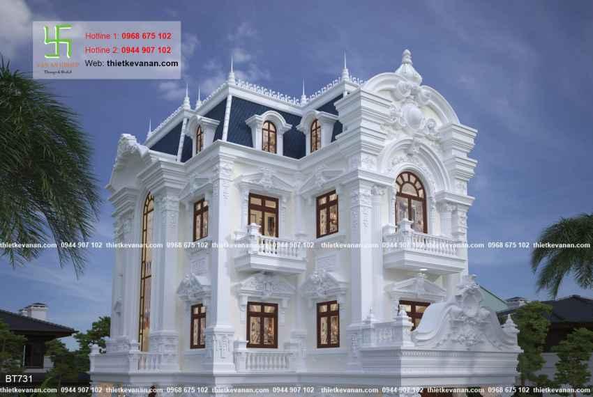 dinh thự hiện đại đẹp